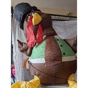 Gemmy Turkey Thanksgiving inflatable air blown vin